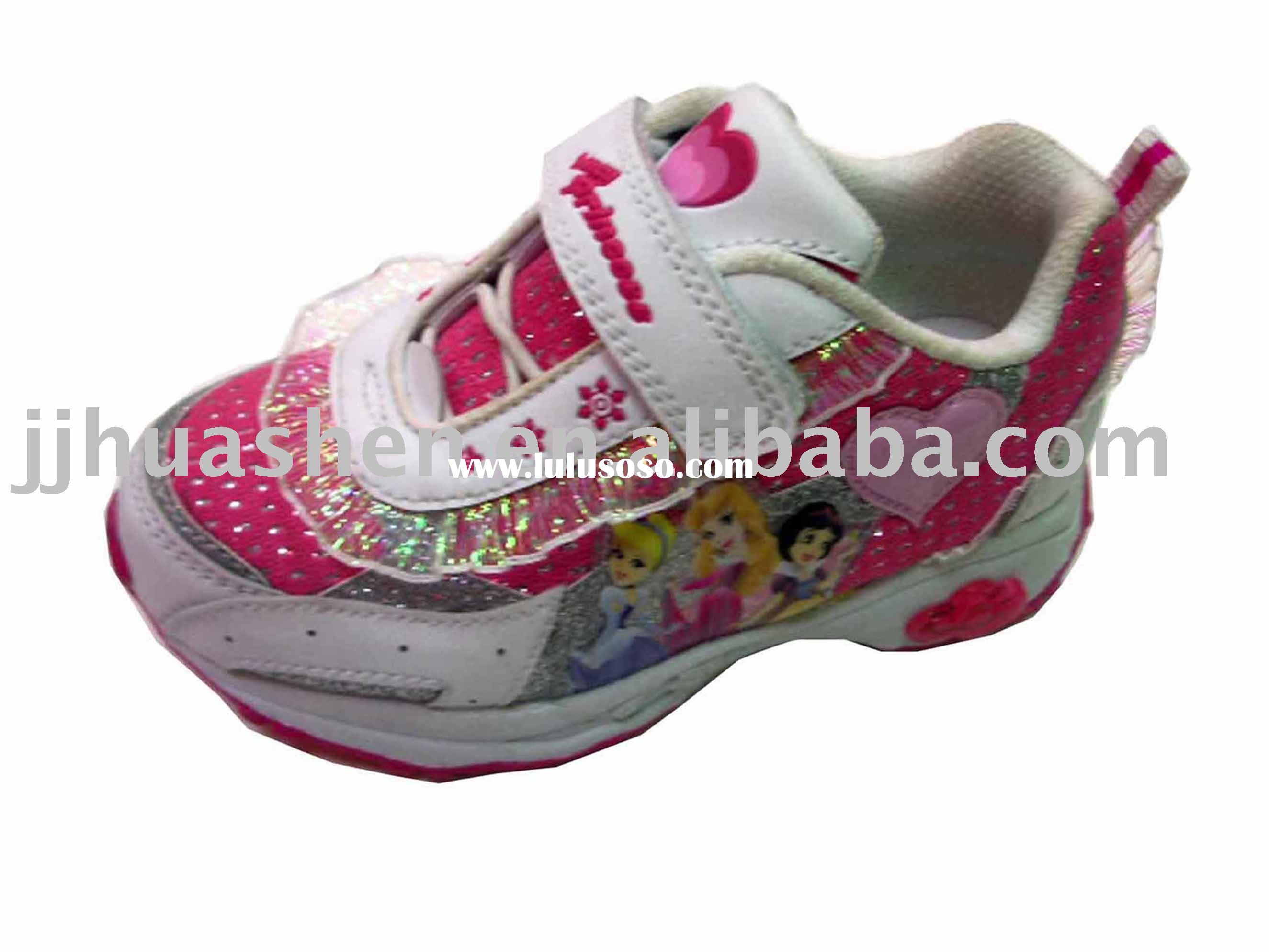 little girl lovely cartoon shoes,kid shoes