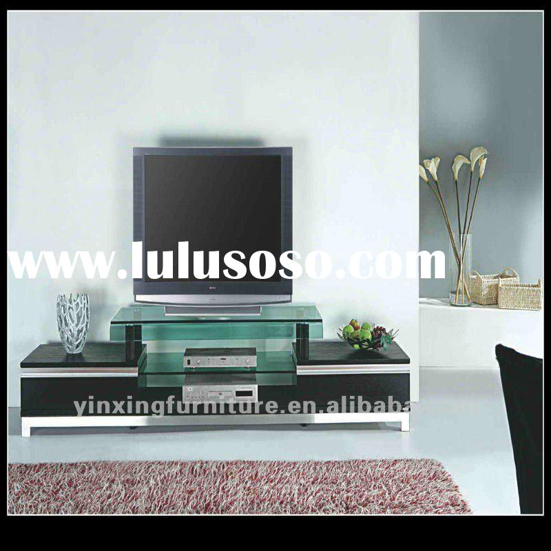 living room lcd tv stand wooden furniture
