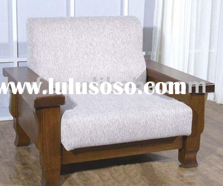 living room wood chaise lounge chair