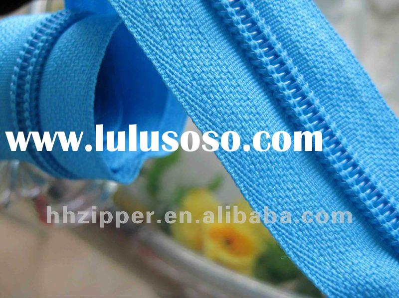 long chain weight 2.4--3.6kg/200yard/roll #5 Nylon zipper long chain