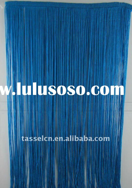 long rayon fringe and tassel fringe for curtain and garment decoration