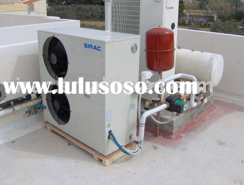 low temperature heating system--air to water heat pump