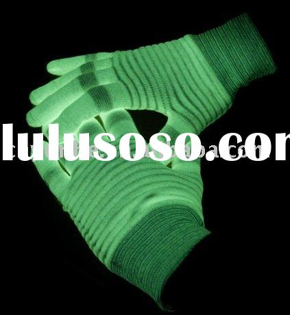 luminous glow in the dark gloves for party favor