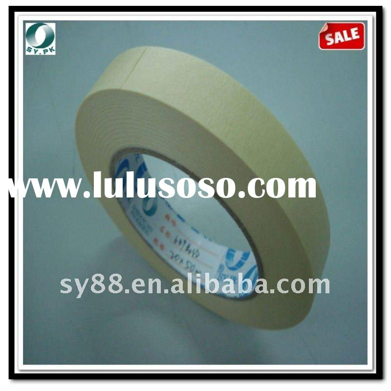 masking tape for high temperature using