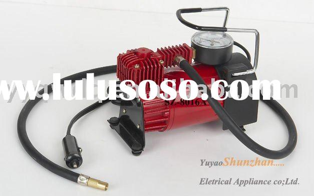 mini air compressor / dc 12v car air pump (HOT stlye !!!)