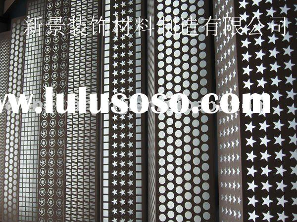 modern design perforated metal screen wall panel any shape