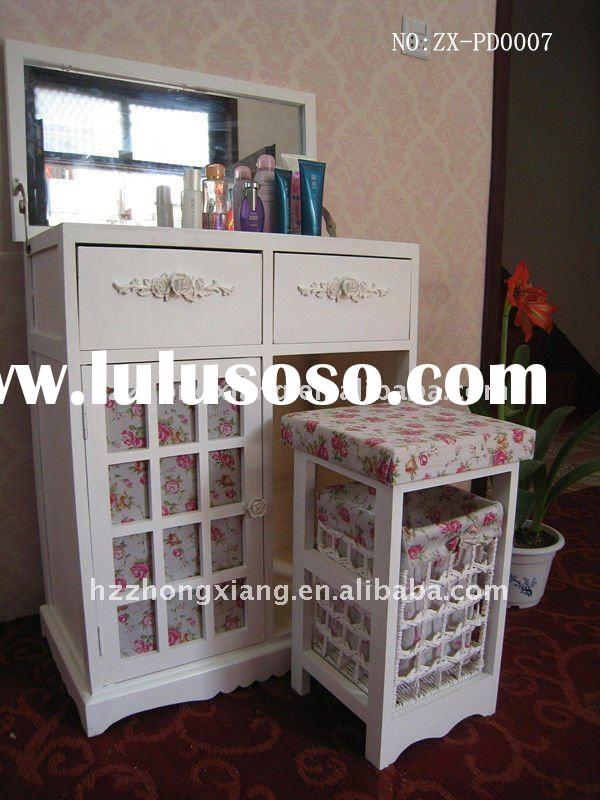 morden wooden dressing table with mirror