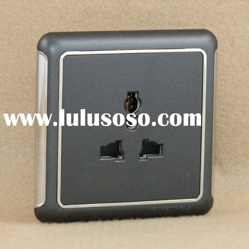multi socket/wall outlet/electrical outlet