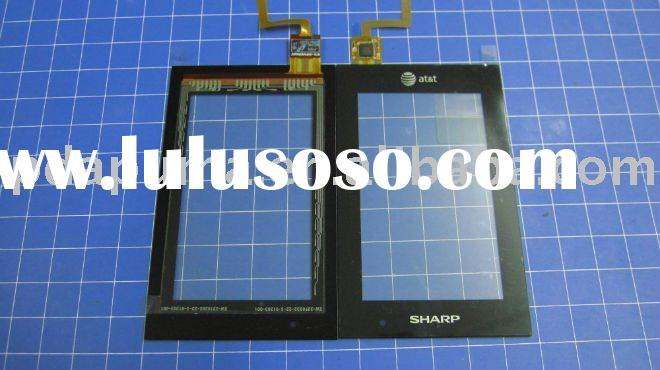 new original lcd touch panel,screen digitizer for at&t Sharp FX