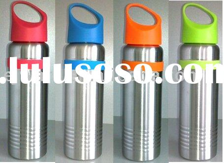 new style stainless steel water bottle with rubber grip