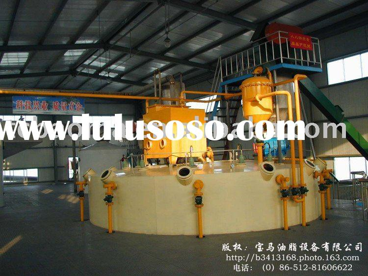 oil and fat solvent extraction and palm kernel oil extraction