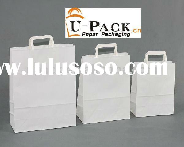 pinted kraft paper bags for food