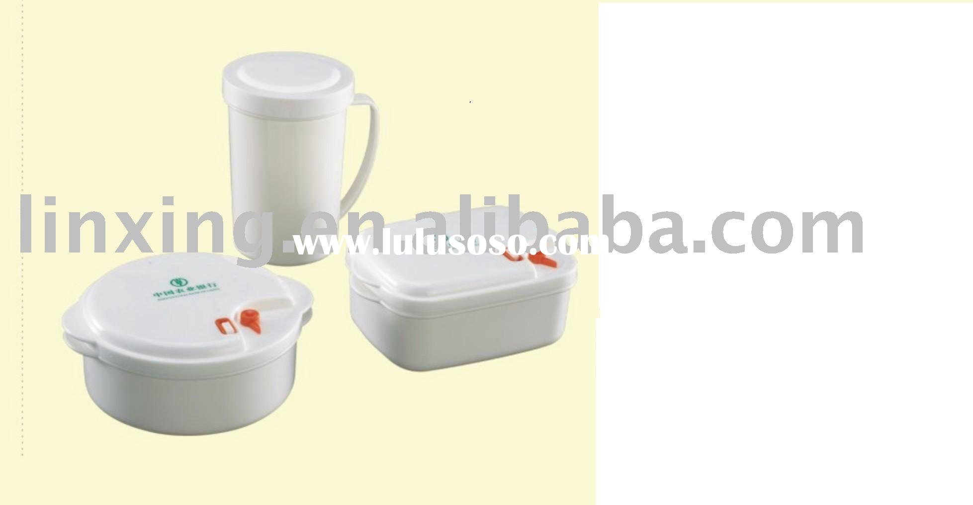 plastic food container set,plastic picnic set ,plastic microwave bowl set.plastic housewave ,