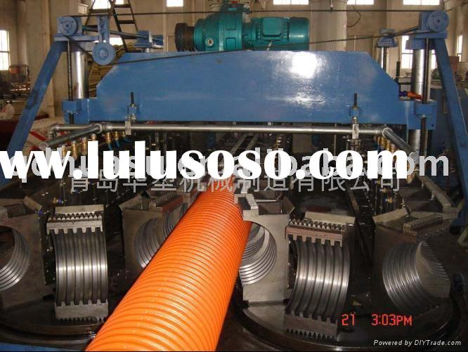 plastic pipe Double Wall Corrugated Pipe Production Line