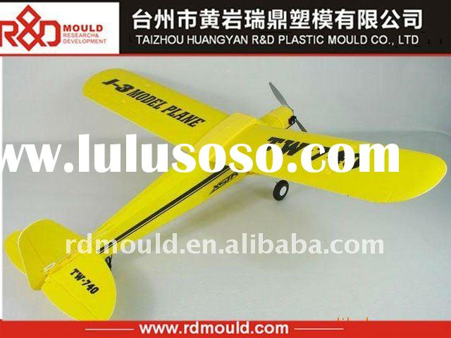 plastic toy airplane mould with remote control