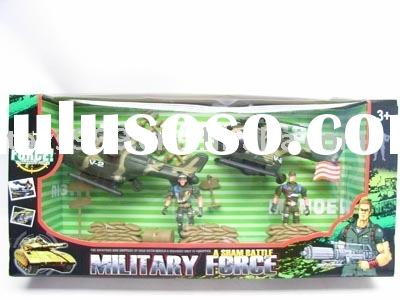 plastic toy/military series toys / soldier playing toys/air craft man play set