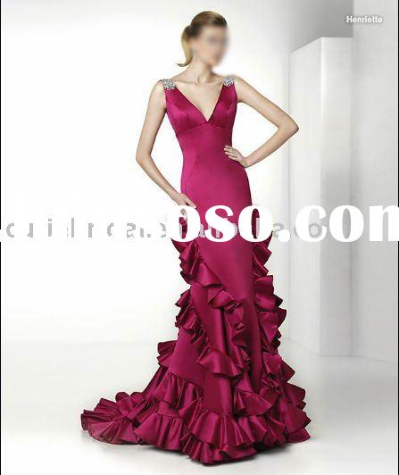 popular evening dress, fashion prom dress, formal dress 50483