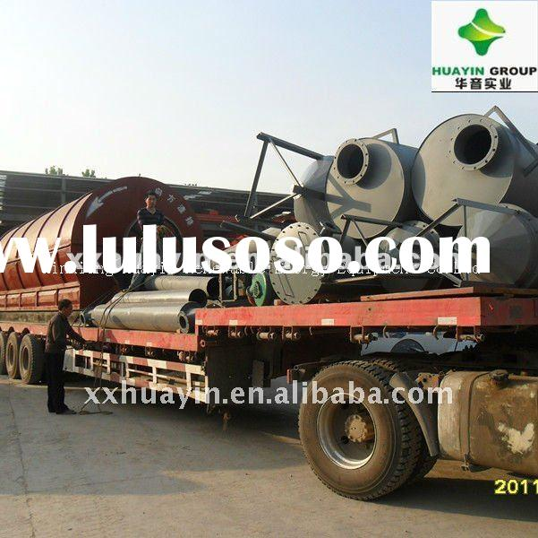 popular in India the waste tire recycling oil machine with ISO&CE