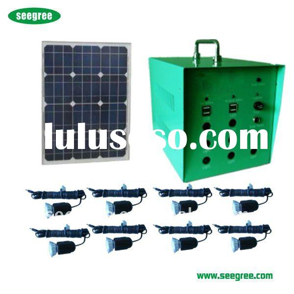 popular new LED 12v solar light kits