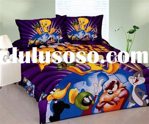 power seller +100% Cotton pokemon Single Bedding (3pcs)set for kid duvet cover A0305 on sale wholesa