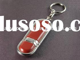 promotional gift leather usb flash drive