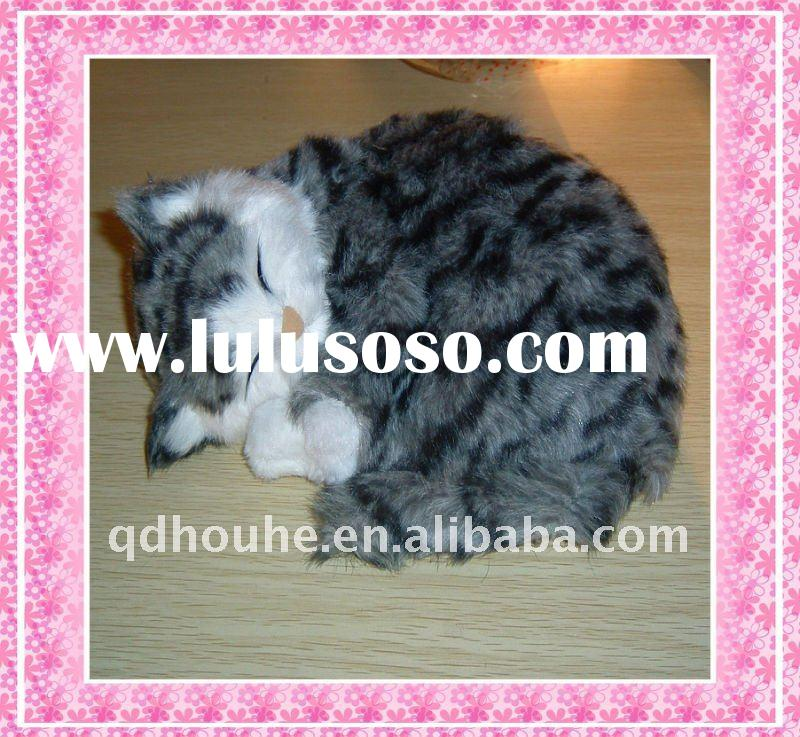 realistic animal toy(sleeping cat)
