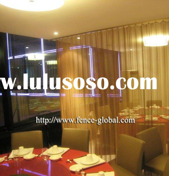 restaurant decorative metal curtain