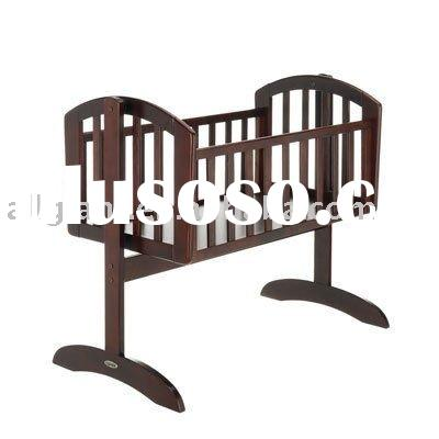 rocking wooden baby crib cot.many size & colour for choice