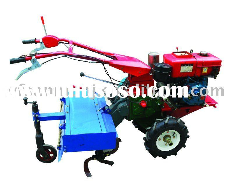 rotary cultivator on the back