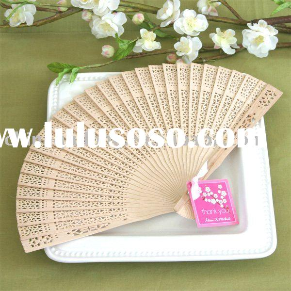 sandalwood fan for Baby Shower