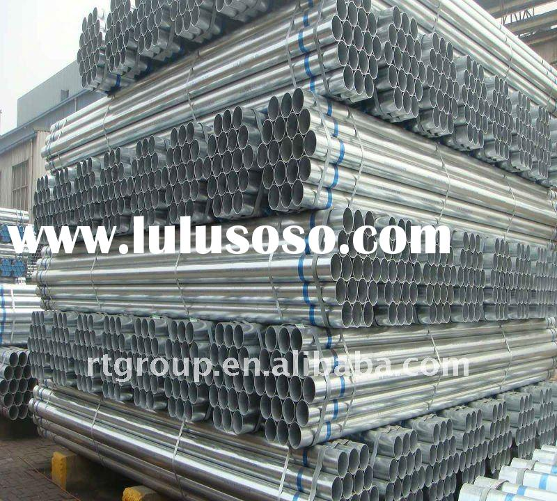 schedule 40 galvanized steel pipe for water manufacturer in china