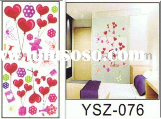 self-adhesive removable wall sticker/ living room decor