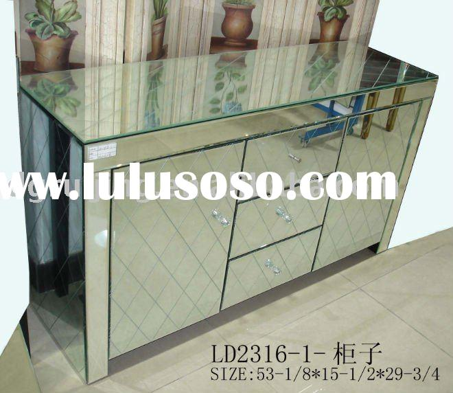Superieur Sleeku0026modern Mirrored Table Venetian Mirror Chest Cabinet,mirrored  Furniture,glass Table