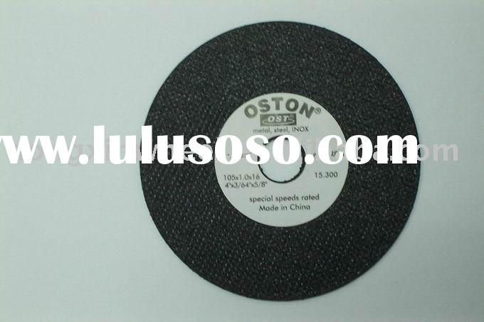 small abrasives grinding/cut off wheel