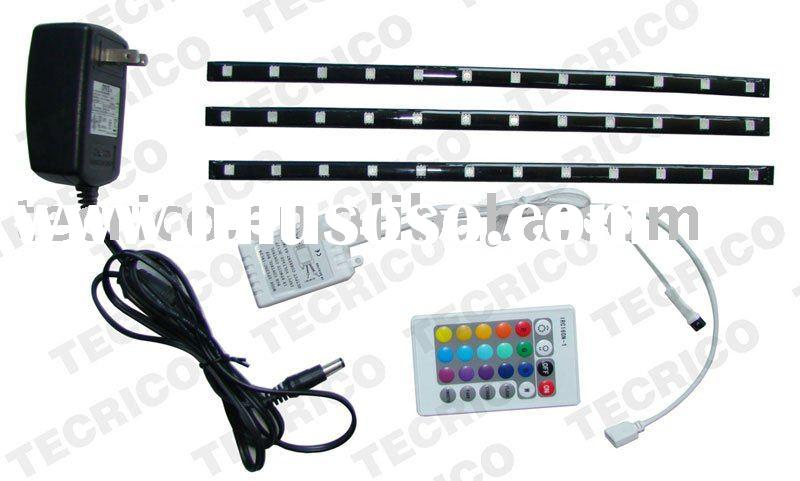 smd flexible led strip light,waterproof,with remote control,12vDC