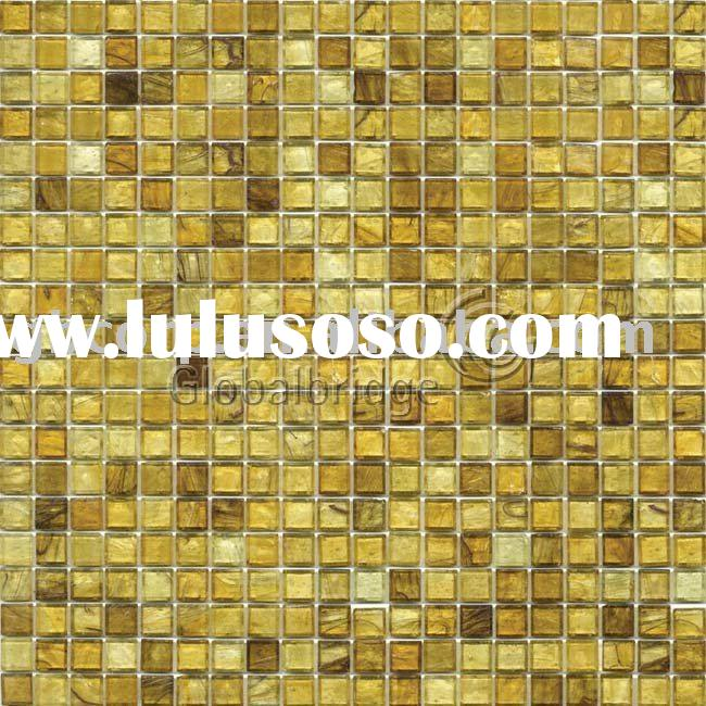 smokey glass mosaic tile