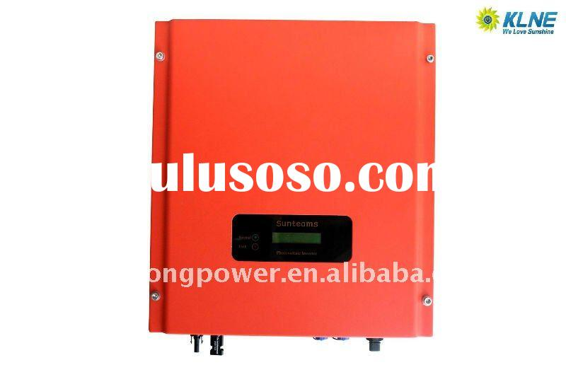 solar grid tie inverter,G83 UL approved with MCS panel