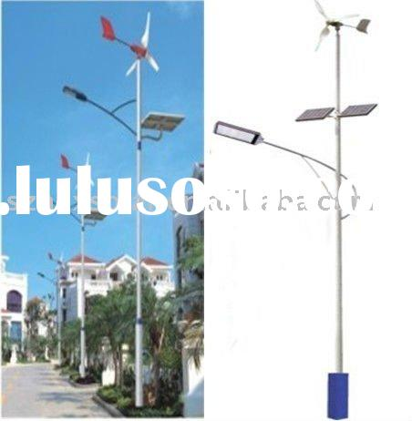 solar wind led street lights