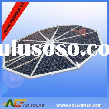 special shapes solar panels 100W