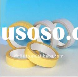 strong and good quality yellow color PET double sided tape