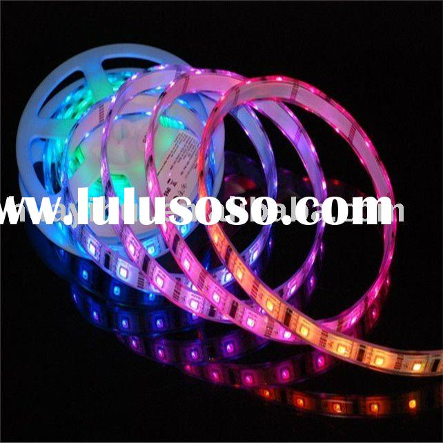 super bright SMD RGB flexible led strip lights