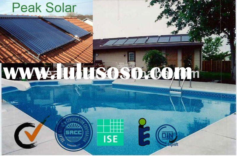swimming pool solar water heating system ( Solar Key Mark, EN12975,OG 100 tested)