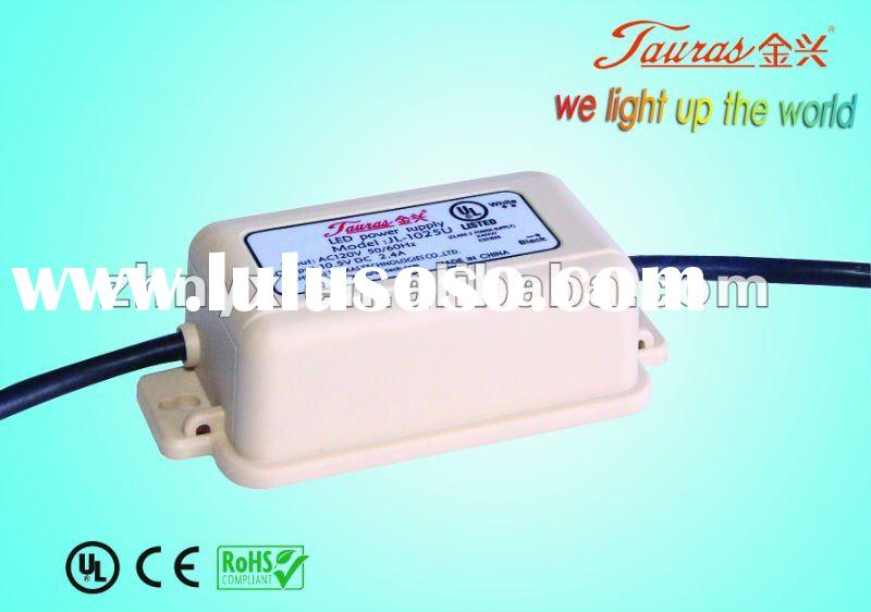 switching power supply meanwell waterproof LED Power supply UL Series 10V 25W Constant Voltage led d