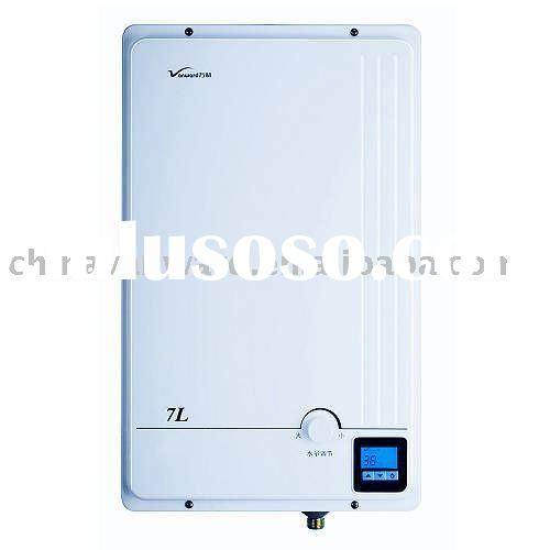 tankless water heater/hot water/household appliance