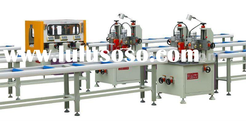 thermal break assembly machine for aluminum window and door