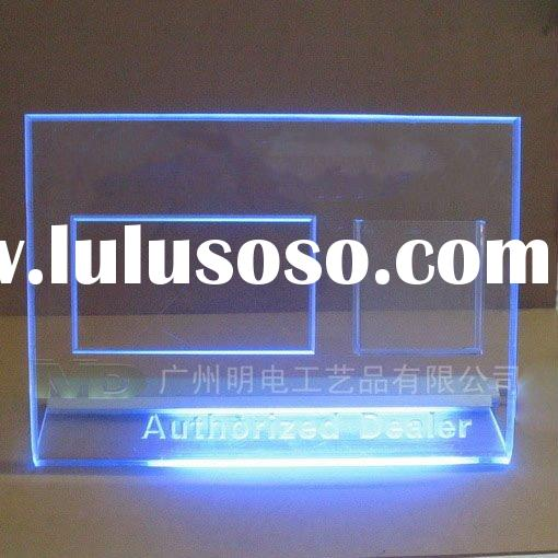 thick acrylic sign holder/led edge lit sign base/plexiglass sign led/acrylic light sign/acrylic sign