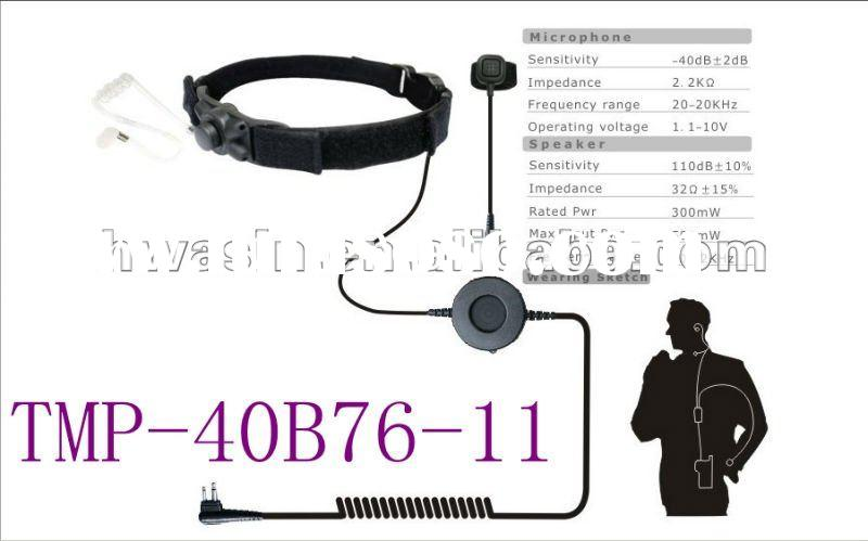 throat microphone wiring diagram microphone connection
