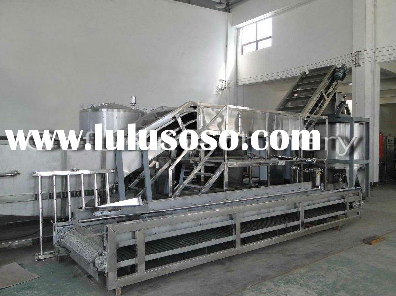 tomato processing machine (fruit juice plant)