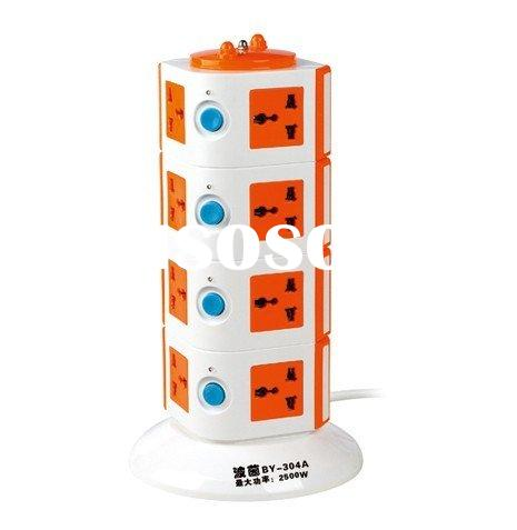 tower power strip soket /16 in 1 electrical sockets with indicator light