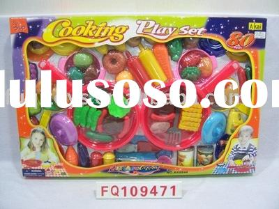 toy food play set/kitchen toys/plastics toys/juguete de cocina
